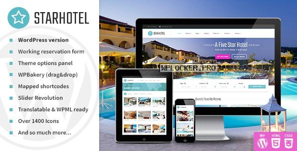 Starhotel v3.0.2 – Responsive Hotel WordPress Theme