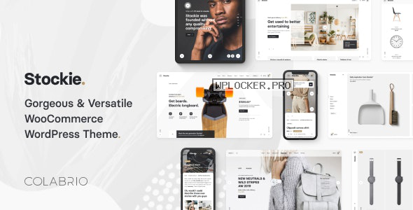 Stockie v1.2.0 – Multi-purpose Creative WooCommerce Theme