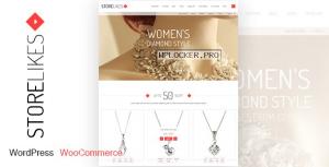 Storelikes v1.9 – Fashion RTL Responsive WooCommerce Theme