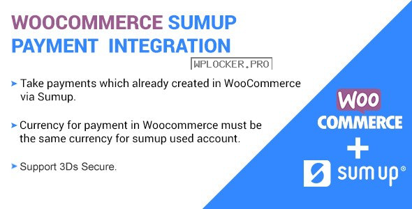 SumUp Payment Gateway For WooCommerce v2.4