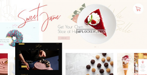 Sweet Jane v1.2 – Delightful Cake Shop Theme