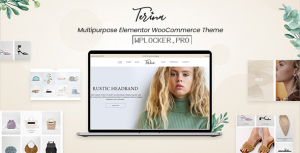 Terina v1.0.0 – Multipurpose Elementor WooCommerce Theme