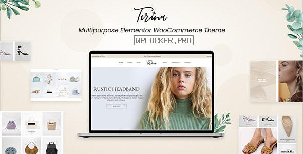 Terina v1.0.0 – Multipurpose Elementor WooCommerce Theme