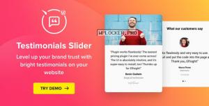 Testimonials Slider v1.6.0 – WordPress Testimonials Plugin