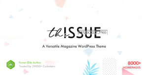 The Issue v1.5.3.3 – Versatile Magazine WordPress Theme