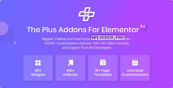 The Plus v4.1.0 – Addon for Elementor Page Builder WordPress Plugin