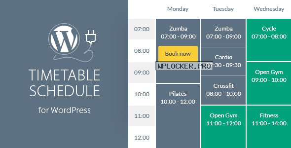Timetable Responsive Schedule v6.4