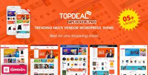 TopDeal v1.8.0 – Multipurpose Marketplace WordPress Theme