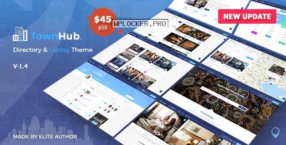 TownHub v1.4.3 – Directory & Listing WordPress Theme