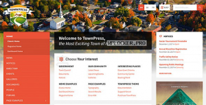 TownPress v3.6.1 – Municipality WordPress Theme