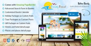 Trendy Travel v4.9 – Multipurpose Tour Package WP Theme
