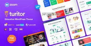 Turitor v1.2.8 – LMS & Education WordPress Theme