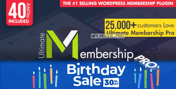 Ultimate Membership Pro WordPress Plugin v9.2.2
