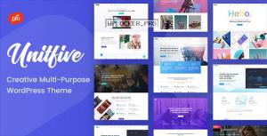 Unit Five v1.6- Creative Multi-Purpose Theme + RTL