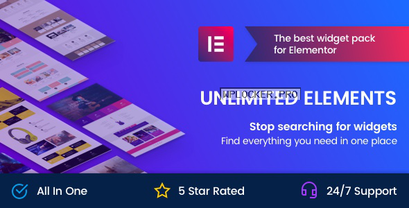 Unlimited Elements for Elementor Page Builder v1.4.50