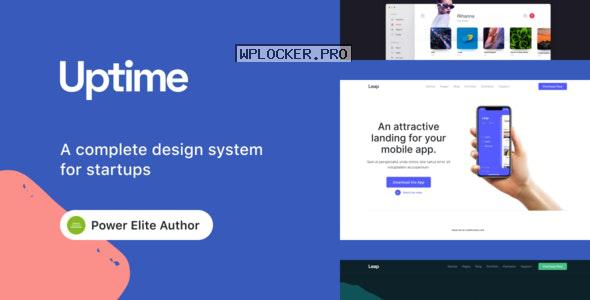 Uptime v1.1.0 – Responsive Elementor WordPress Theme for Business