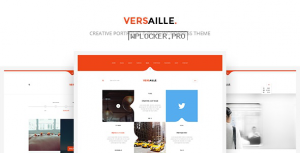 Versaille v1.4.1 – Personal Blog WordPress Theme