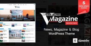 Vmagazine v1.1.8 – Blog, NewsPaper, Magazine Themes