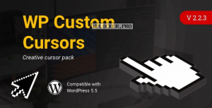 WP Custom Cursors v2.2.3 – WordPress Cursor Plugin