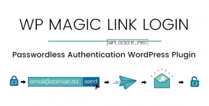 WP Magic Link Login v1.5.6 – Passwordless Authentication WordPress Plugin