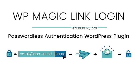 WP Magic Link Login v1.5.6 – Passwordless Authentication WordPress Plugin