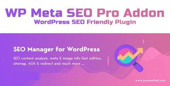 WP Meta SEO Pro Addon v1.4.6 – WordPress SEO Friendly Plugin