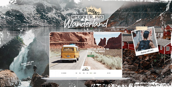 Wanderland v1.2 – Travel Blog