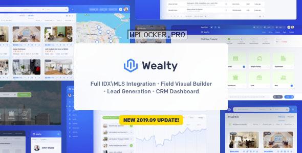 Wealty v3.1 – Multipurpose Real Estate WordPress Theme