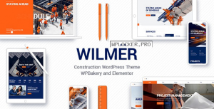 Wilmër v2.3 – Construction Theme