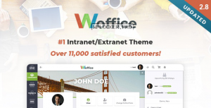 Woffice v2.9.4 – Intranet/Extranet WordPress Theme