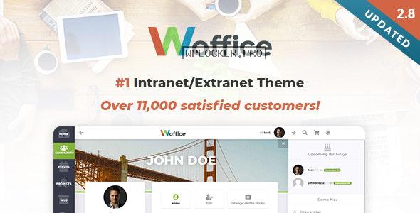 Woffice v2.9.4 – Intranet/Extranet WordPress Theme