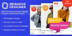 Woo Badge Designer v3.0.2 – WooCommerce Product Badge Designer WordPress Plugin