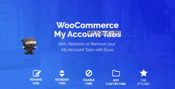 WooCommerce Custom My Account Pages v1.0.9