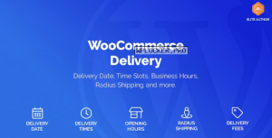 WooCommerce Delivery v1.1.4 – Delivery Date & Time Slots