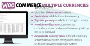 WooCommerce Multiple Currencies v5.0