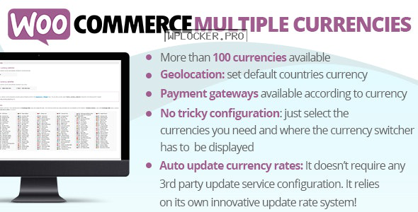 WooCommerce Multiple Currencies v5.0