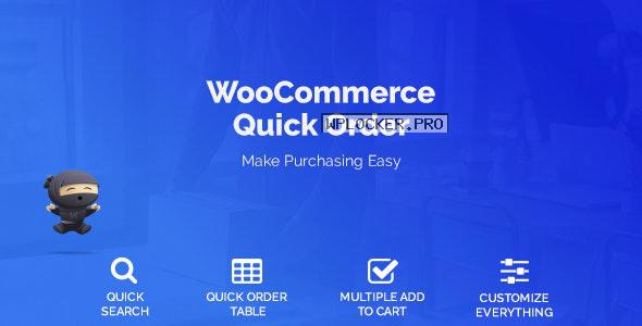 WooCommerce Quick Order v1.3.9