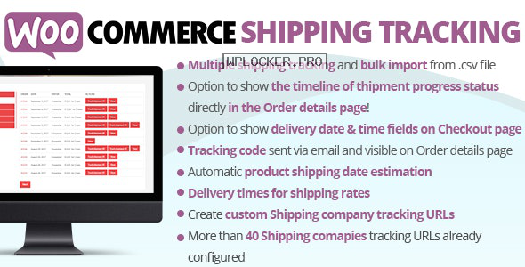 WooCommerce Shipping Tracking Plugin v27.1