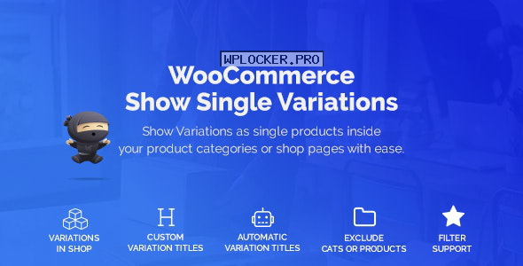 WooCommerce Show Variations as Single Products v1.2.4