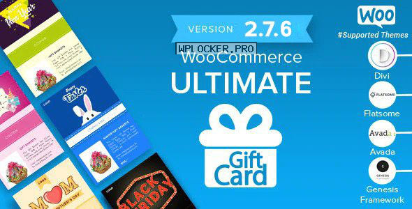 WooCommerce Ultimate Gift Card v2.7.6