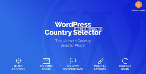 WordPress Country Selector v1.6.1