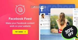 WordPress Facebook Plugin v1.14.1 – Facebook Feed Widget