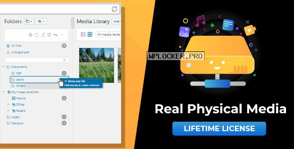 WordPress Real Physical Media v1.2.6 – Physical Media Folders & SEO Rewrites