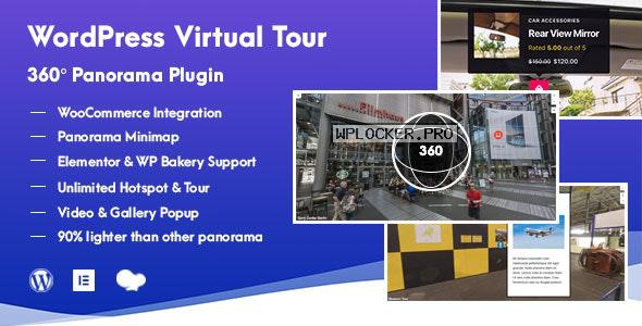 WordPress Virtual Tour 360 Panorama Plugin v1.0.6