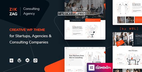 ZikZag v1.1.1 – Consulting & Agency WordPress Theme