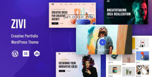 Zivi v1.0.1 – Contemporary Creative Agency Theme