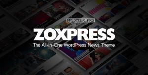ZoxPress v1.09.0 – All-In-One WordPress News Theme