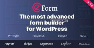 eForm v4.14.2 – WordPress Form Builder
