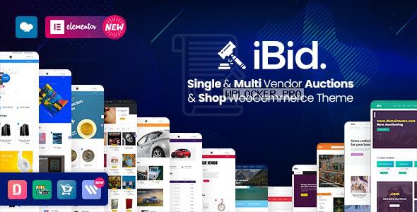 iBid v2.4 – Multi Vendor Auctions WooCommerce Theme