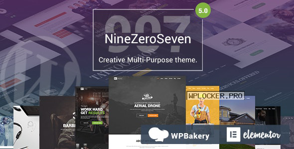 907 v5.1- Responsive Multi-Purpose Theme